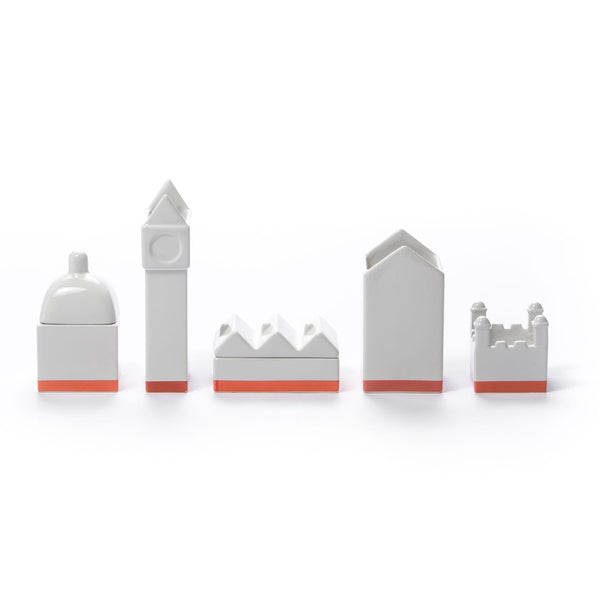 مجموعة منظم المكتب Desktructure The City Desk Set Seletti