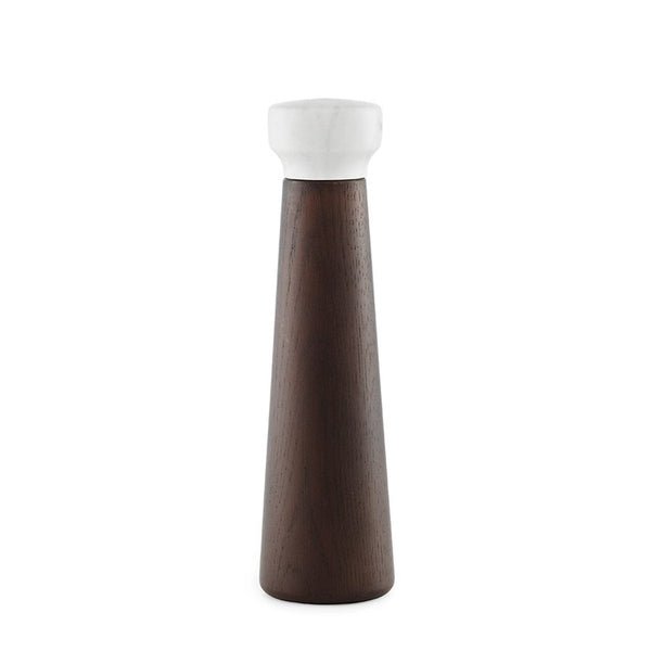 ملاحة Craft Salt Mill Large Salt & Spices NORMANN COPENHAGEN stained/oak
