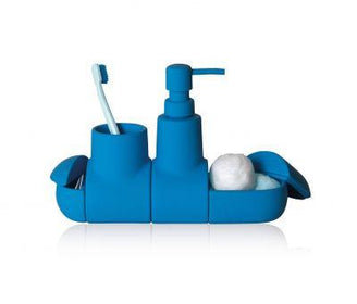 منظم الحمامSubmarino Bathroom tools Seletti أزرق