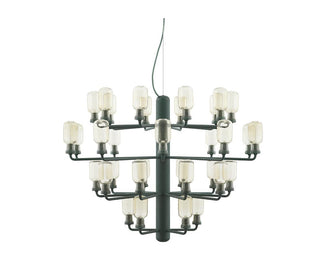 مصباح Amp Chandelier Large EU Ceiling Lamp NORMANN COPENHAGEN اخضر * ذهبى