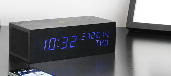 Music Click - ساعة Digital clocks Gingko