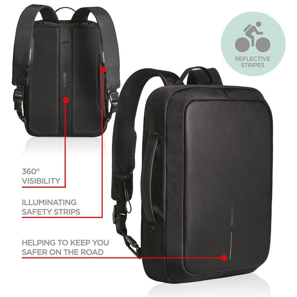 Bobby Bizz anti-theft backpack & briefcase( Item Code : P705.571)