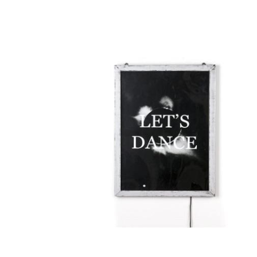 "POSTER FOR PET WITH FRAME ""FRAME IT!"" - ""LET'S DANCE"" Cm.52,5x37,5 Xero Seletti"