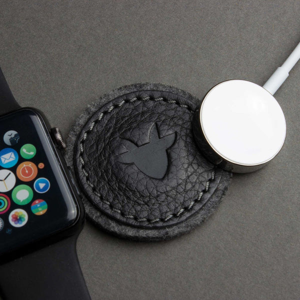 قاعدة شاحن للساعة Apple Watch Pad Electronic Gadgets Kiko Leather