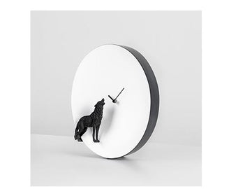 ساعة الذئب Moon X Wall Clocks Haoshi