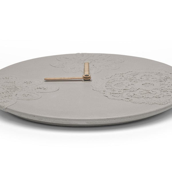 ساعة الحائط Concrete Wall Clocks Soon Salon