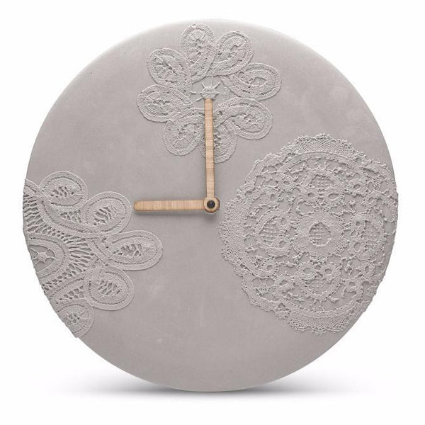 ساعة الحائط Concrete Wall Clocks Soon Salon مشجرة