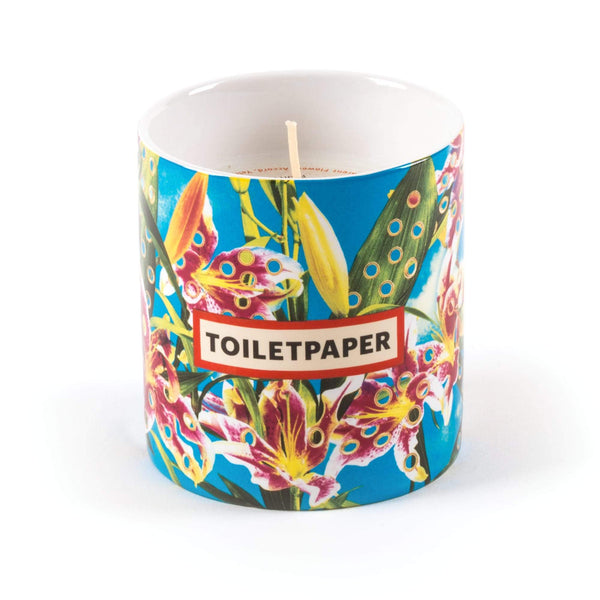 شمعة Candle Flower with holes Scented Candles Seletti