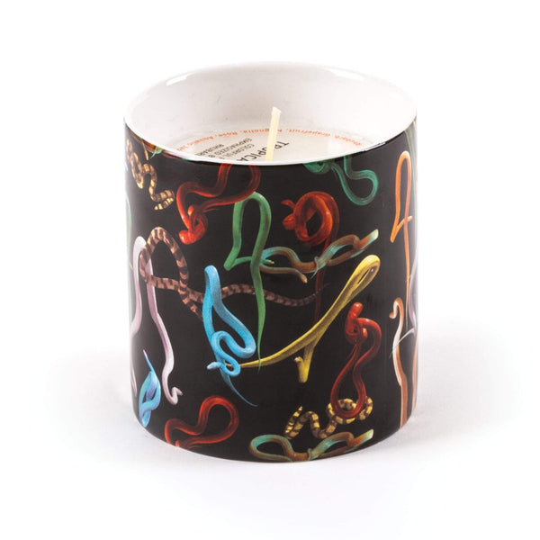 شمعة Candle Snakes Scented Candles Seletti
