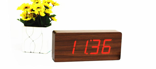 SLAB Click ساعة Digital clocks Gingko