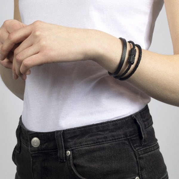 سوار METAL CUFF / BLACK Bracelets Buster and Punch