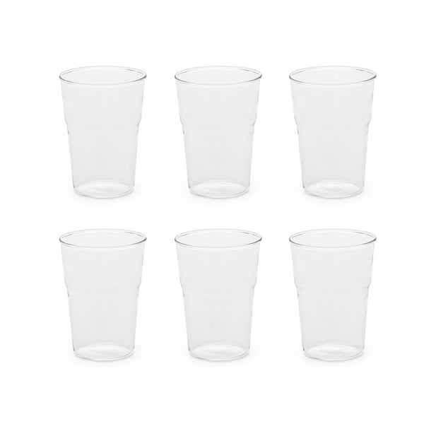 طقم أكواب العصير ( 6 قطع ) Estetico Quotidiano Water & Juices Glasses Seletti