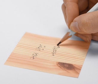 ورق ملاحظات Memo Wood Sticky Notes Appree