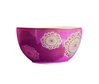 زبدية بنقوش زهرية Mosaic Parme Bowl Arabesque Boutique