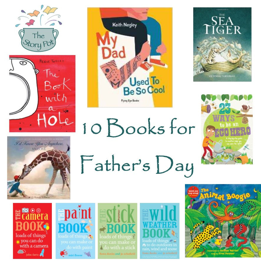 10 books for Fathers Day
