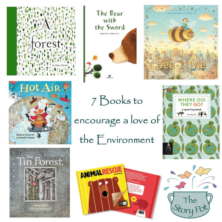 7 Books to encourage a love of the Environment