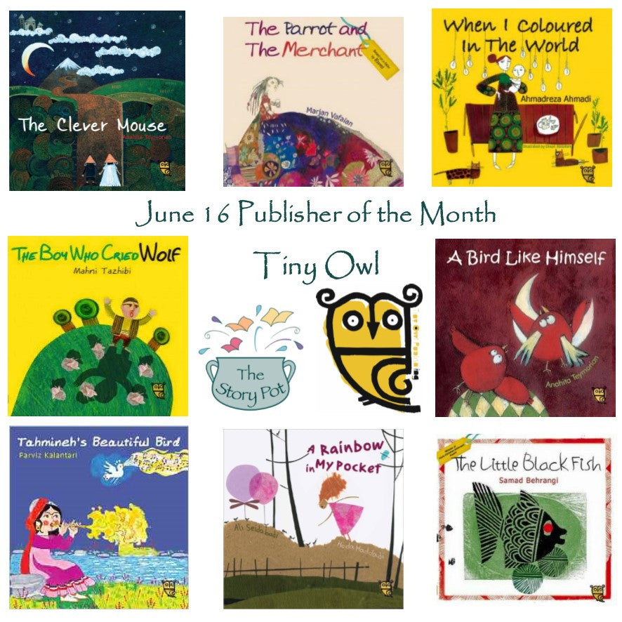 Tiny Owl - June Publisher of the Month