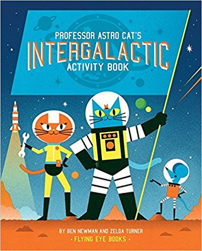 Professor Astro Cats Atomic Adventure Activity Book
