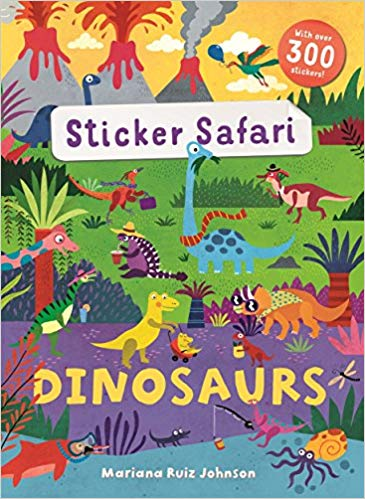 Sticker Safari Dinosaur