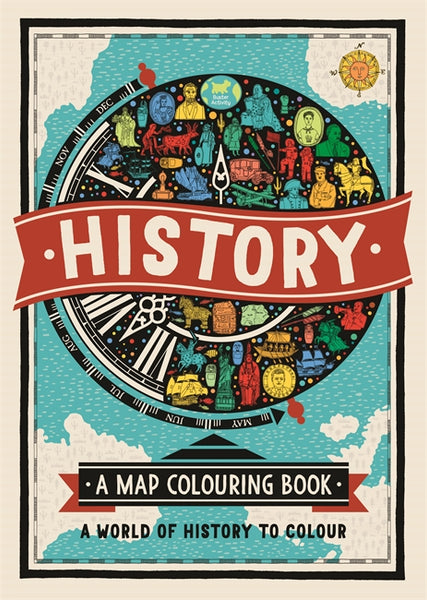 History: A map Colouring Book