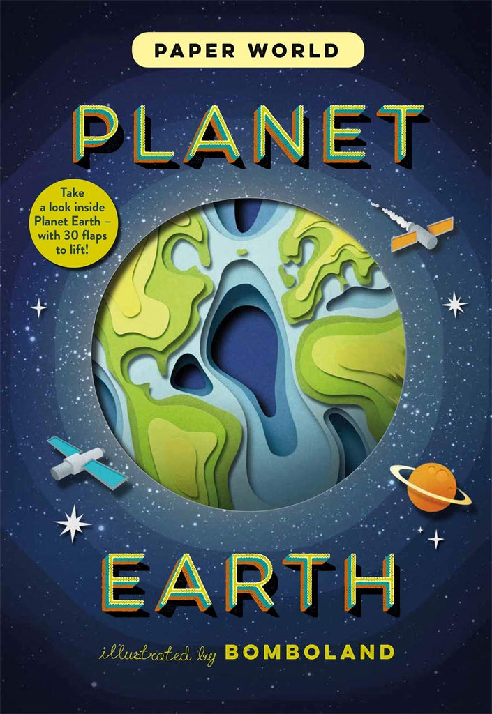 Paper World Planet earth