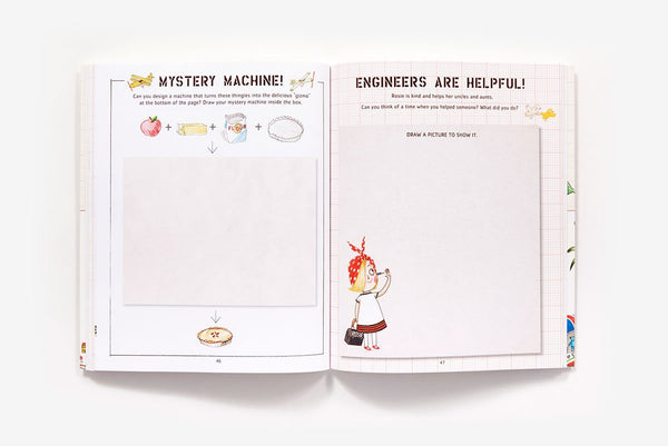 Rosie Revere Big Project Book for Bold Engineers