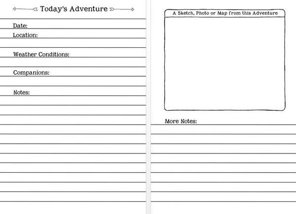 Adventure Journal - Preorder - Free Postage in UK