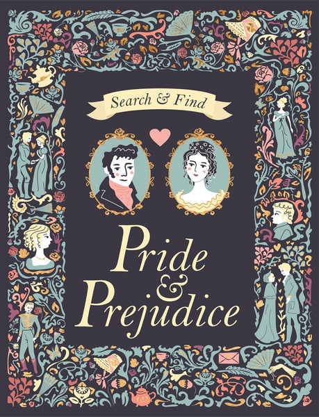 Search and Find Pride and Prejudice