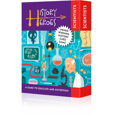 History Heroes Scientists Card Game 1