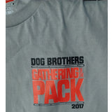 Gathering of the Pack 2017 t-shirt