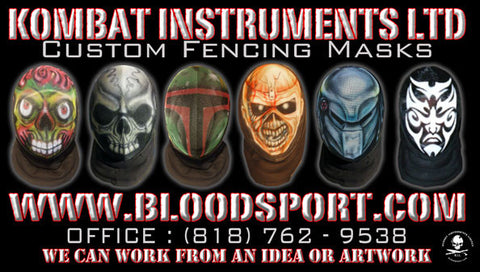 Custom Fencing Mask