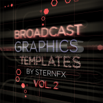 SternFX Broadcast Graphics AE, Vol II