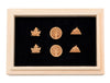 GREAT OUTDOORS WOODEN STUD EARRING SET: 3 Unique Designs with a Beautiful Wood Box