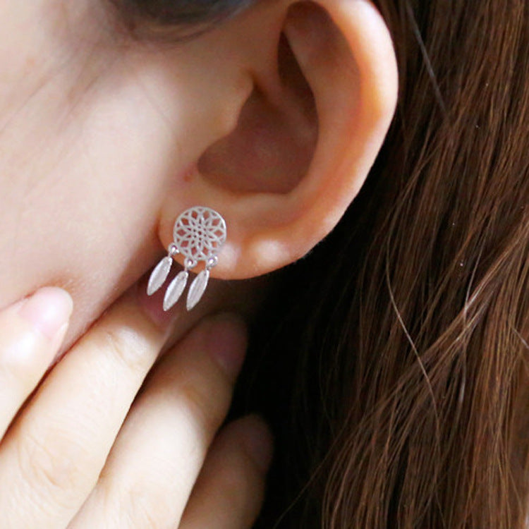 Dainty Dreamcatcher Earrings - Miss Grandeur