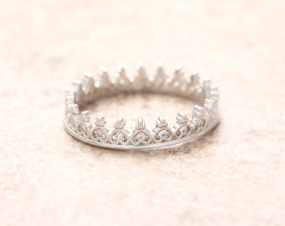 Tiara Ring - Miss Grandeur
