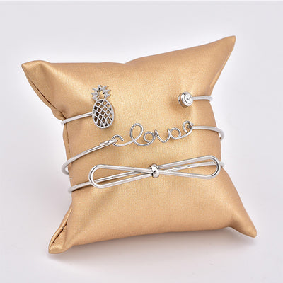3pcs/set Retro Queen Bracelet - Miss Grandeur