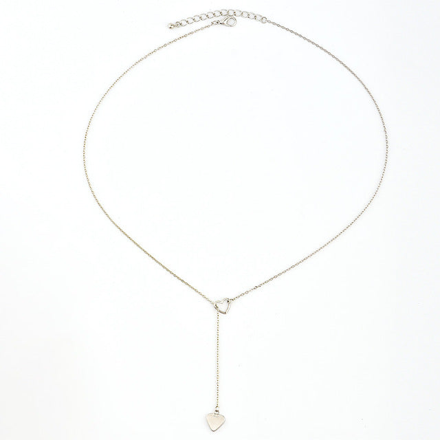 Heart Lariat Necklace - Miss Grandeur