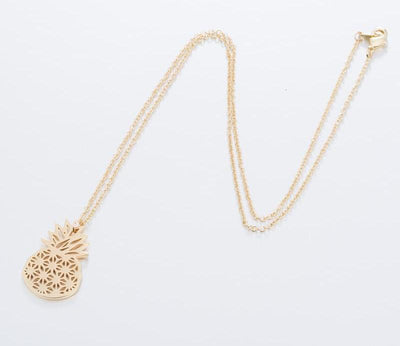 Cute Pineapple Necklace - Miss Grandeur