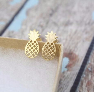 Dainty Pineapple Earrings - Miss Grandeur