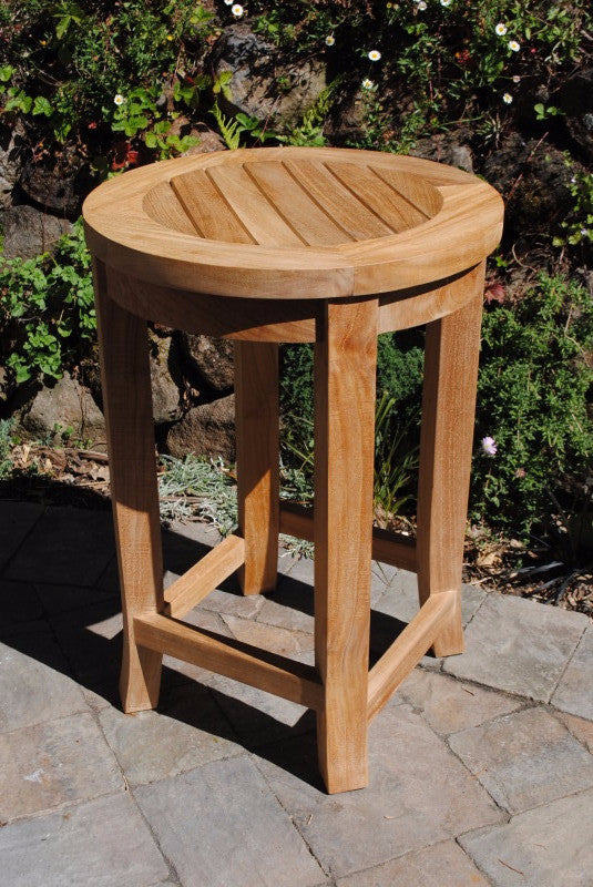 Round Counter Height Stool