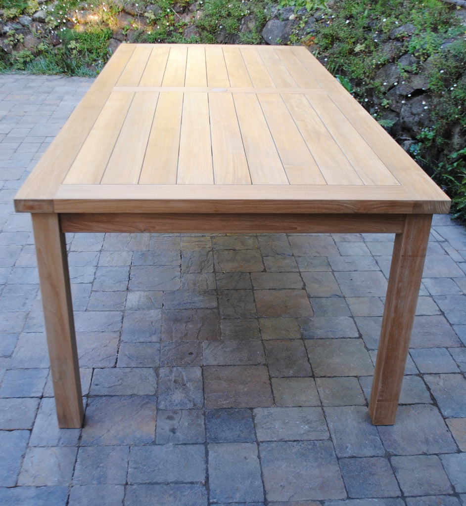 8' Rectangle Farm Table