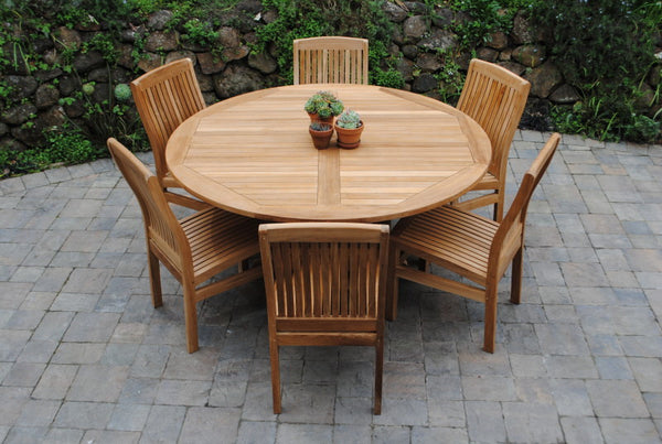 "55"" Round Fixed Table"