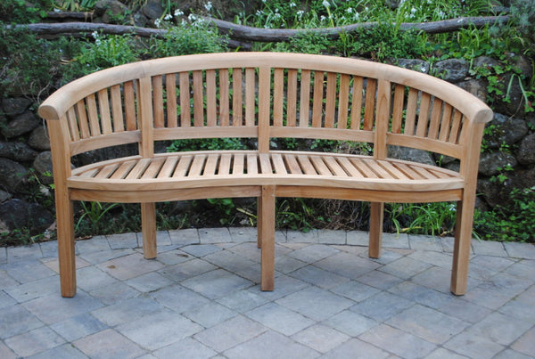5' Curved San Francisco Bench