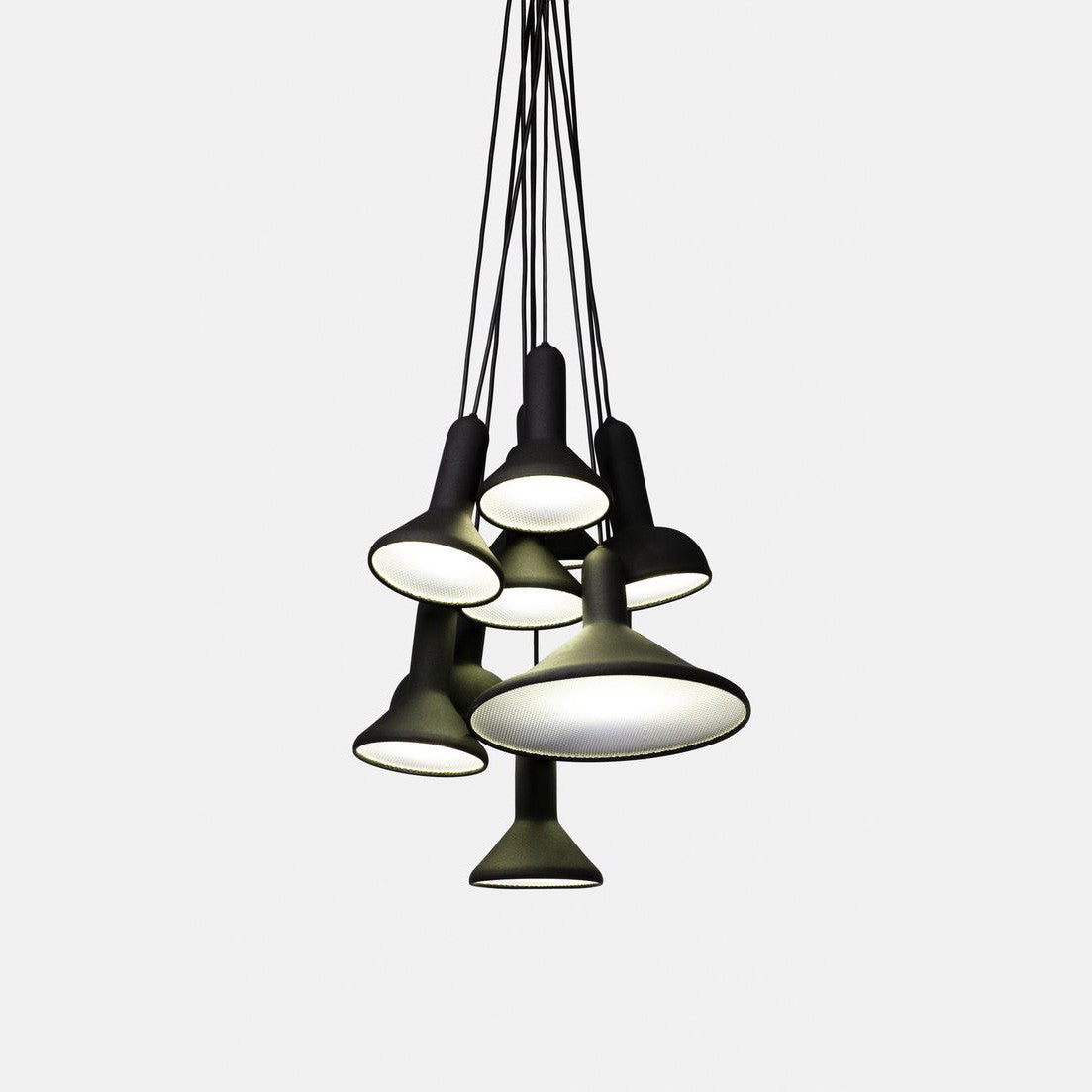 Torch Pendant Light, S10 Bunch [spring clean]