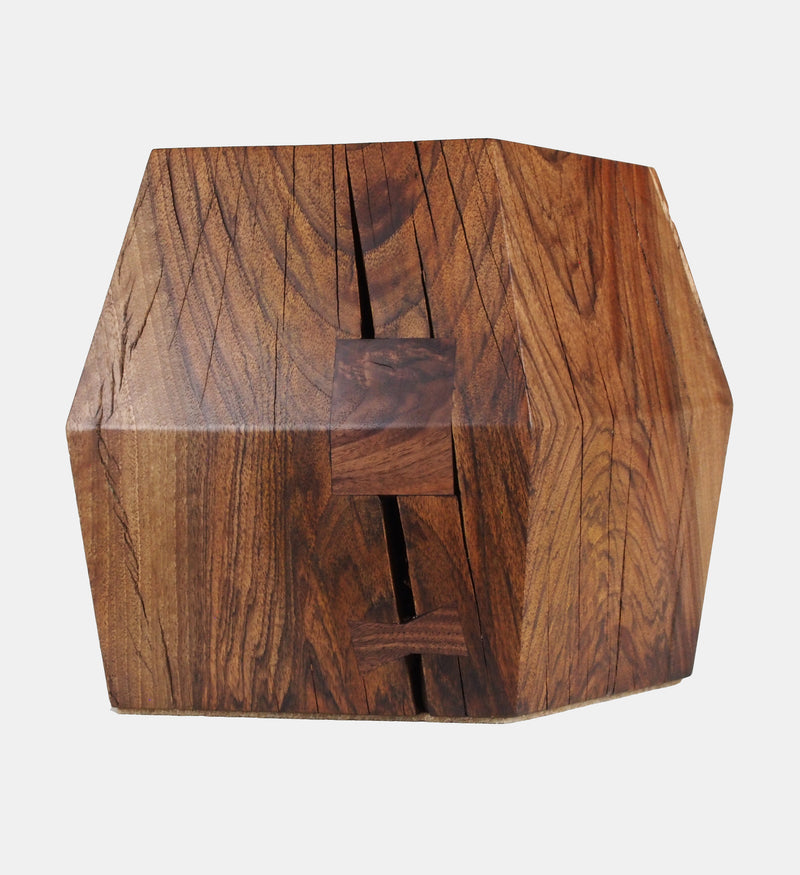 Stool #146 in Claro Walnut