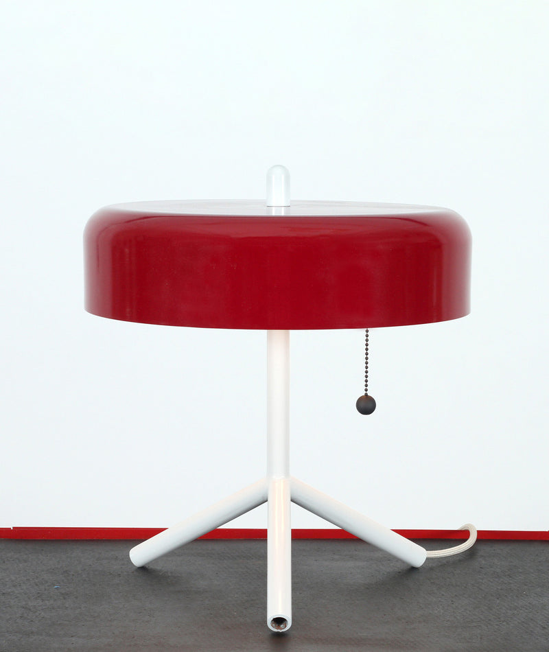 F/K/A Table Lamp - Red / Grey / Ivory