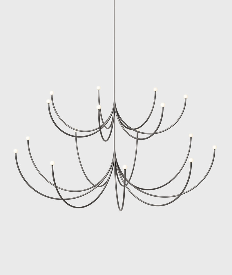 Arca 2-Tier Chandelier - Medium / Large