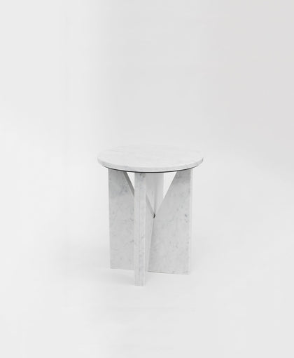 Affordances Side Table - Carrara