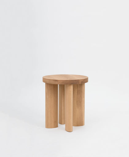 Orbit Stool 4 - White Oak
