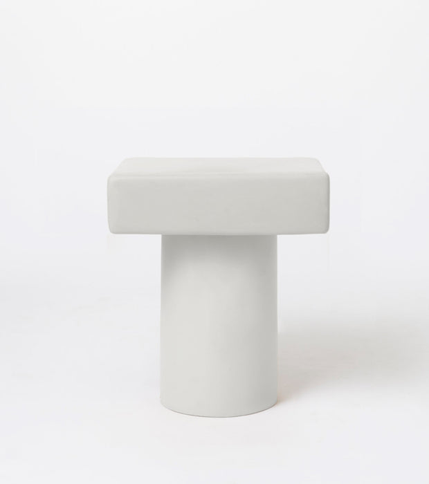 Roly Poly Night Stand / Chalk